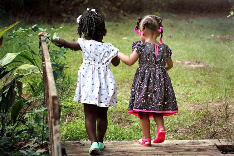 Bambine Mondo dei bimbi diverse