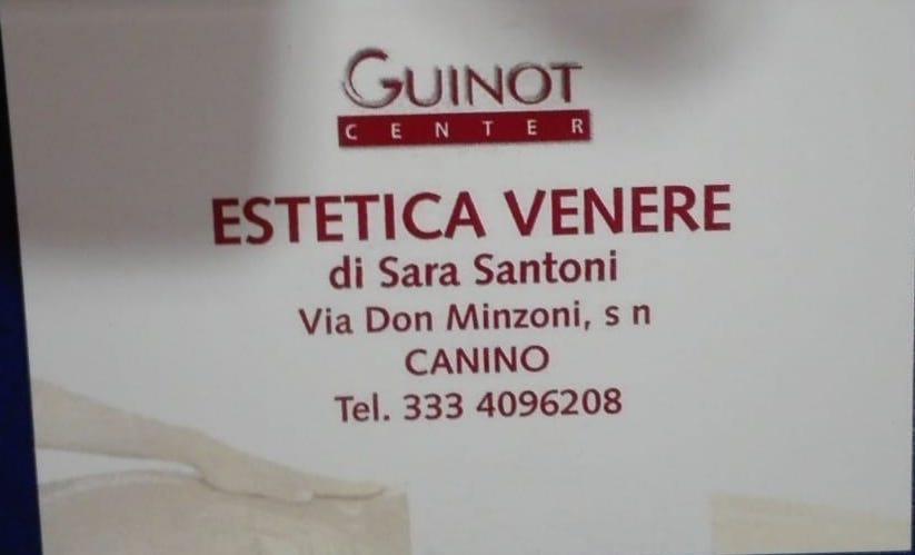 logo estetica venere sara santoni