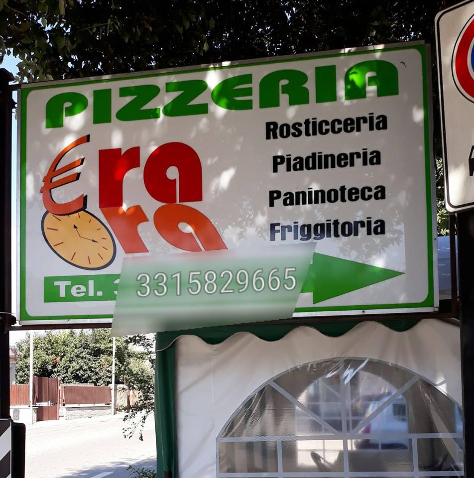 logo pizzeria era ora